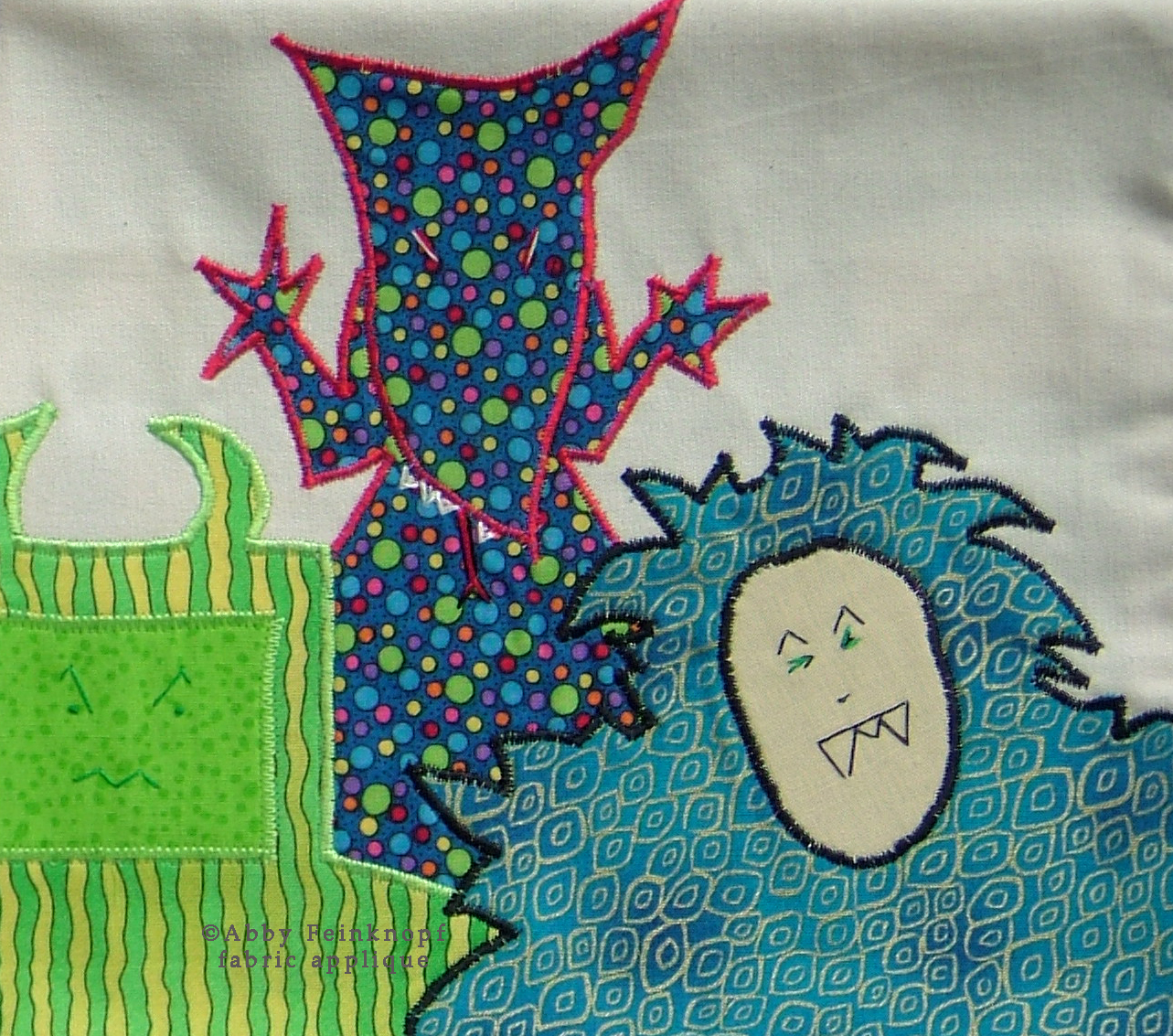 Fabric Illustration ©Abby Feinknopf, from A Monster's Cookbook...