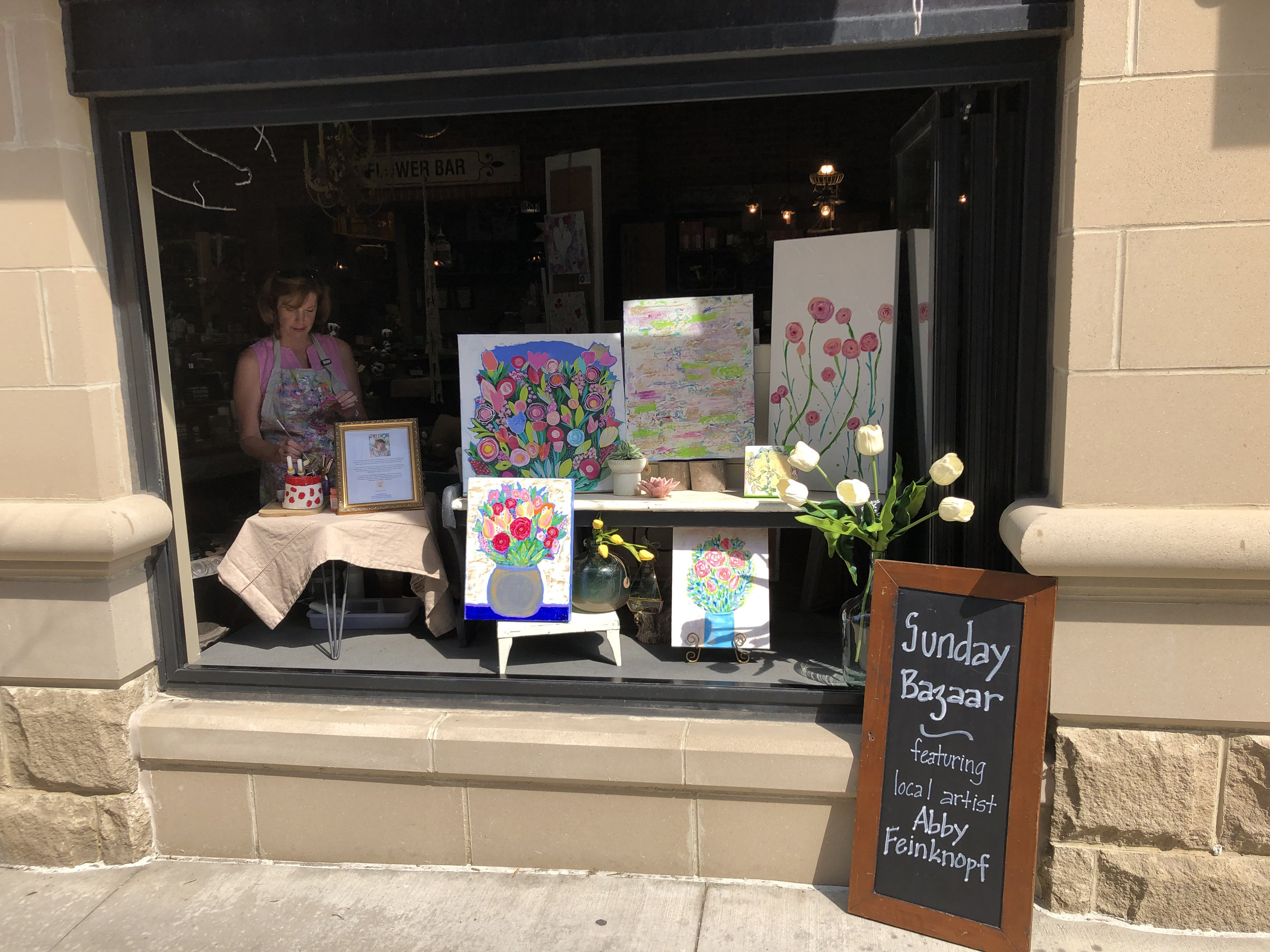 Featured Artist for The Paper Daisy Flower Boutique