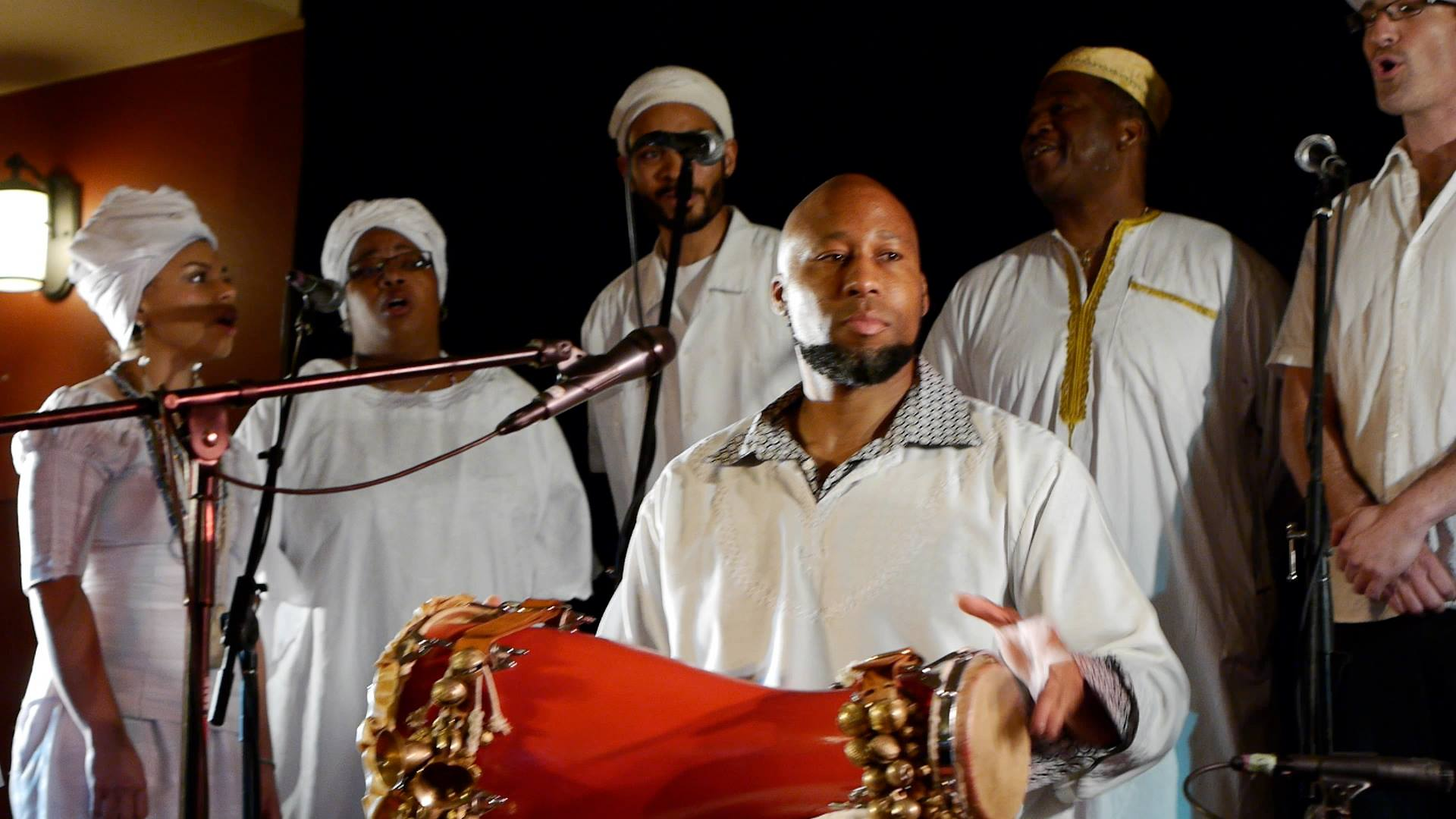 Omo Alagba CD release party at Fremont Abbey