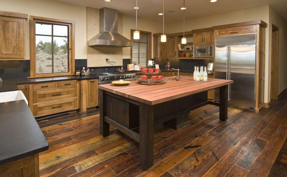 rustic hardwood floor reclaimed nashville