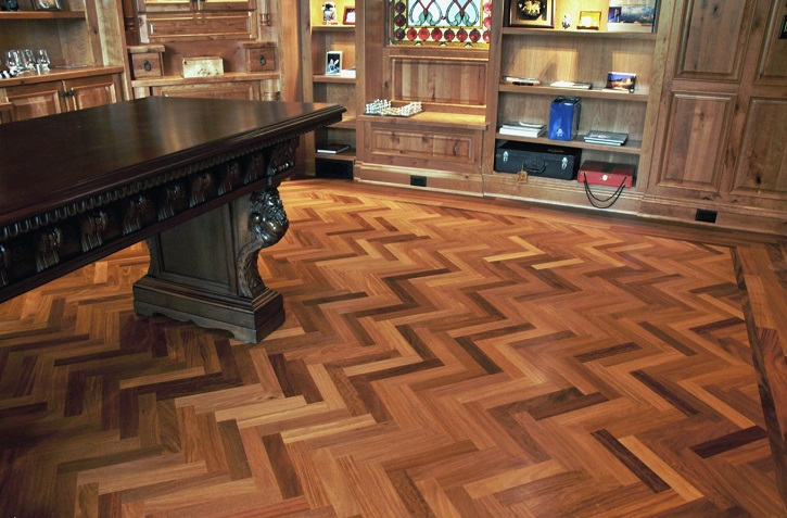 Custom Floors herringbone Brilliance Flooring.jpg
