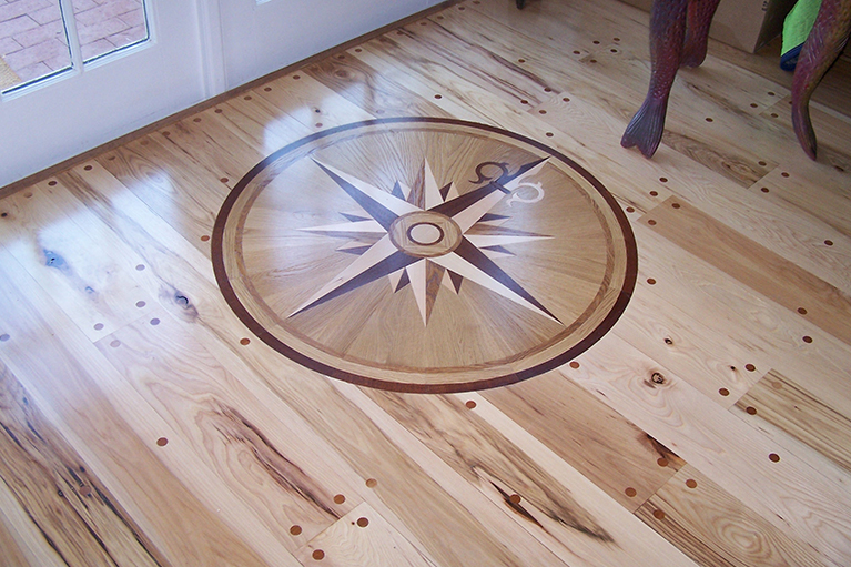 Custom Hardwood Floor inlay brilliance flooring.jpg