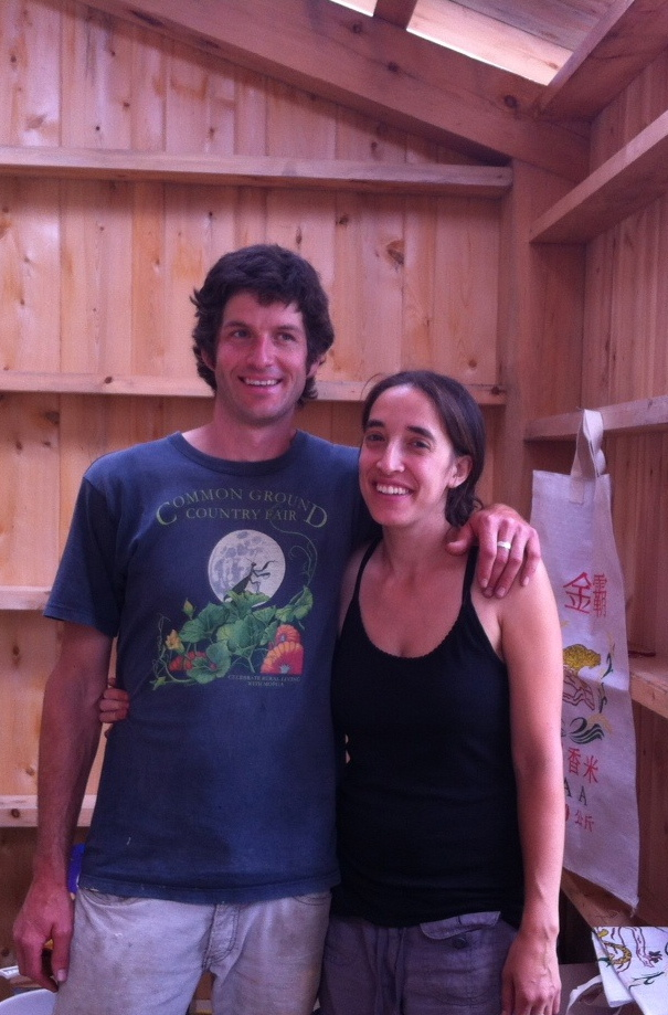 Noah Wentworth and Flora Brown, farmer-owners