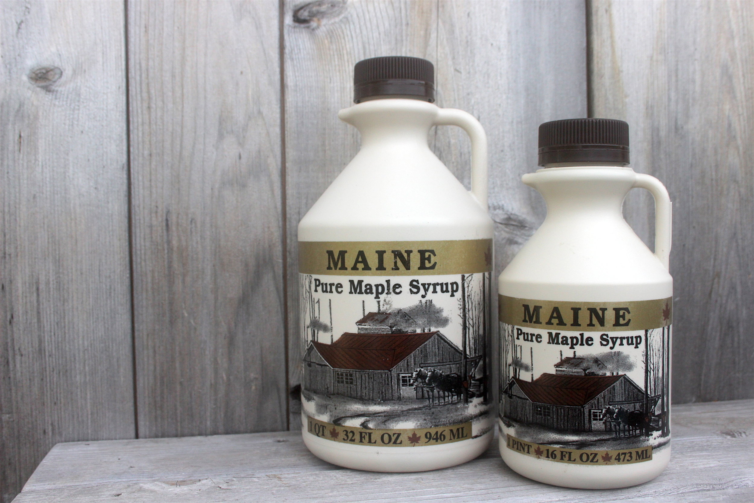 Maine Pure Maple Syrup