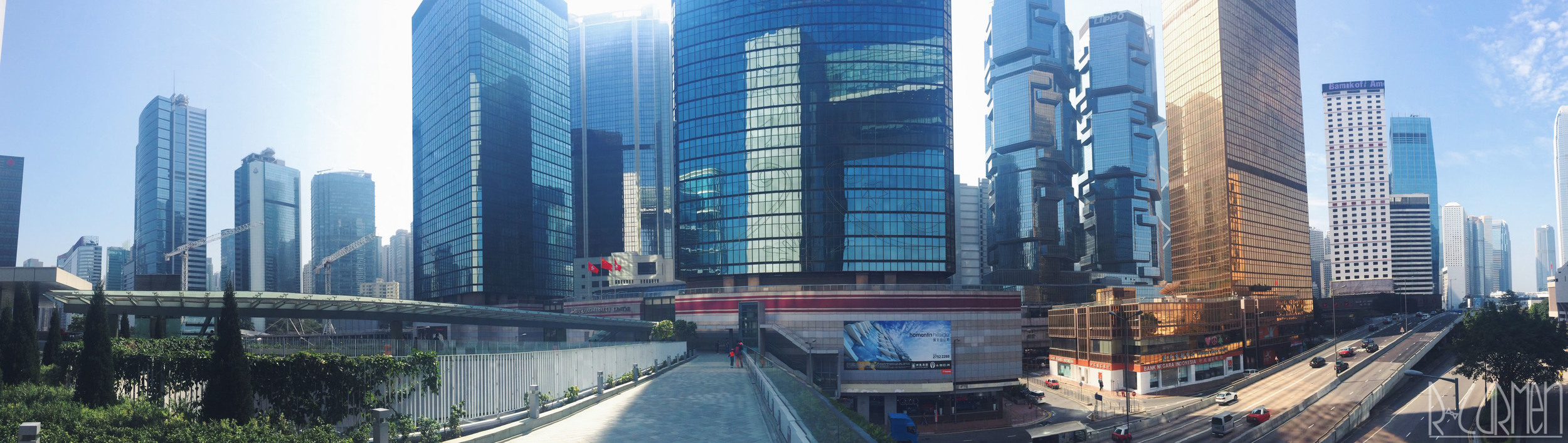 iPhone panorama-Central, Hong Kong