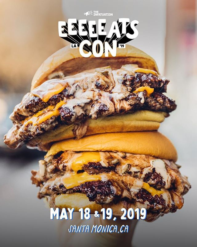 GIVEAWAY TIME 🎉 And we are super excited about this one! We are giving away 2 tickets to the @infatuation @eeeeeatscon event on May 18th & 19th.  The rules are simple: 1. Follow @forkedup and @eeeeeatscon  2. Tag a friend 3. That's it! Enter as many times as you'd like, as long as you tag a different person each time! 1 Lucky Winner will be chosen at random and announced here next Monday! Get tickets at the link in our bio now.