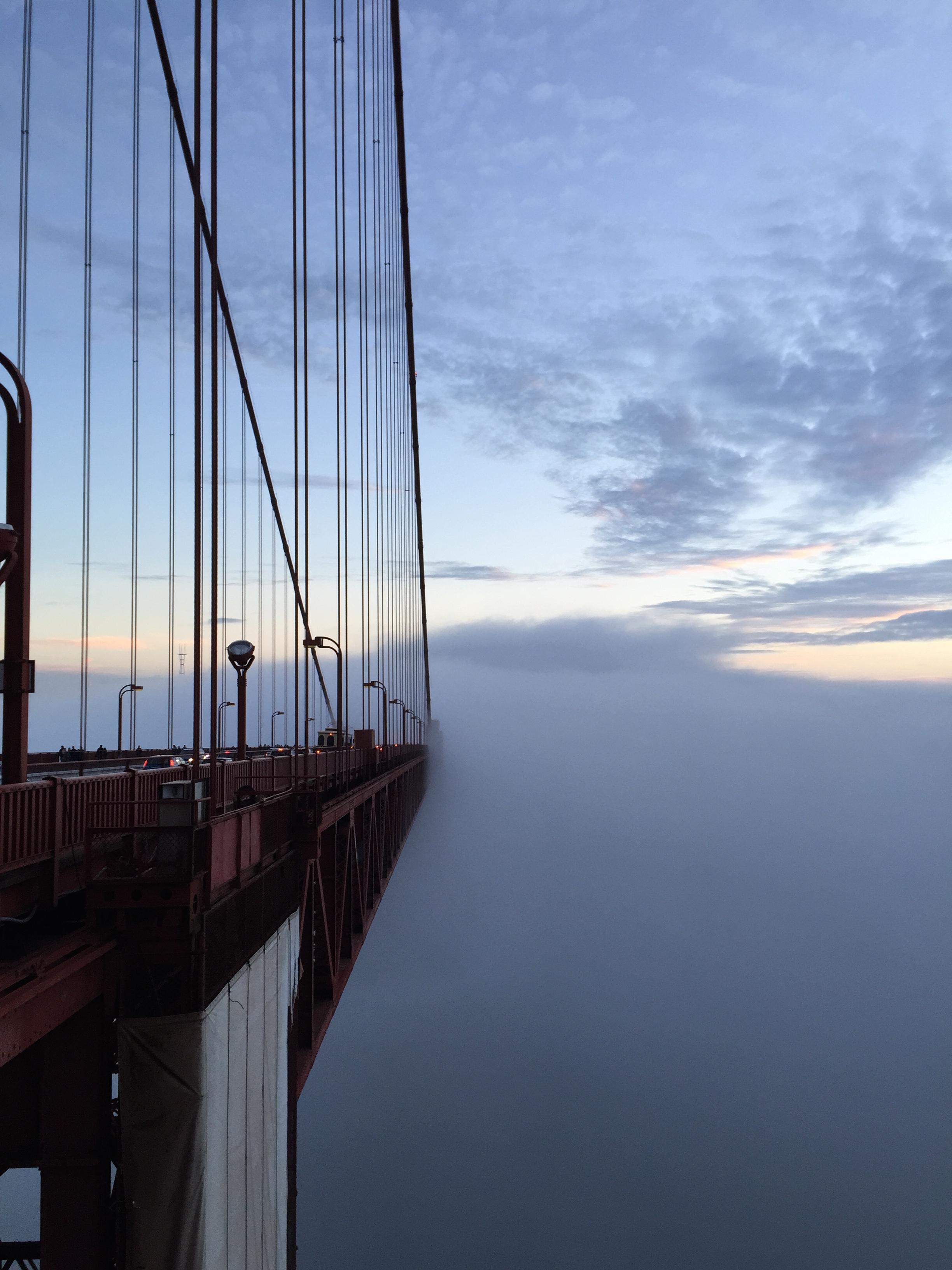 The Golden Gate Bridge, San Francisco, CA.