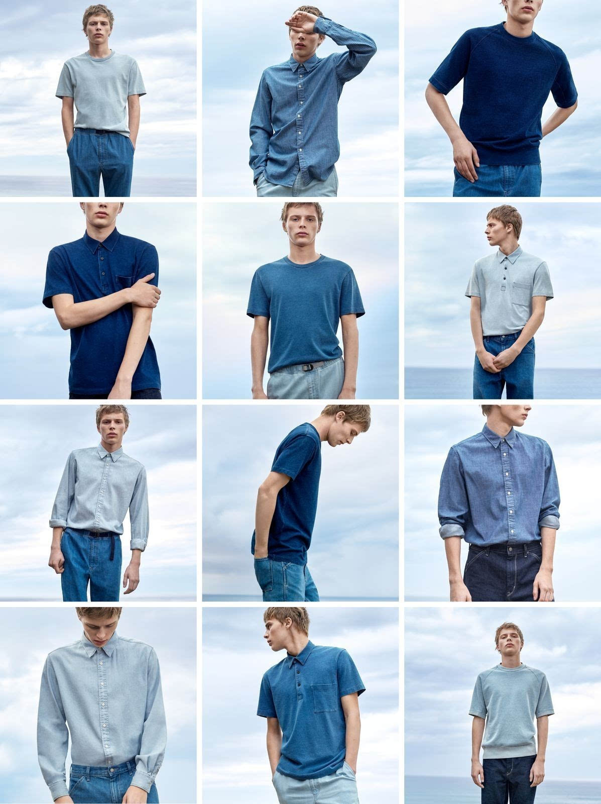 UNIQLO U by CHRISTOPHE LEMAIRE  CAMPAIGN IMAGE  SPRING 2017