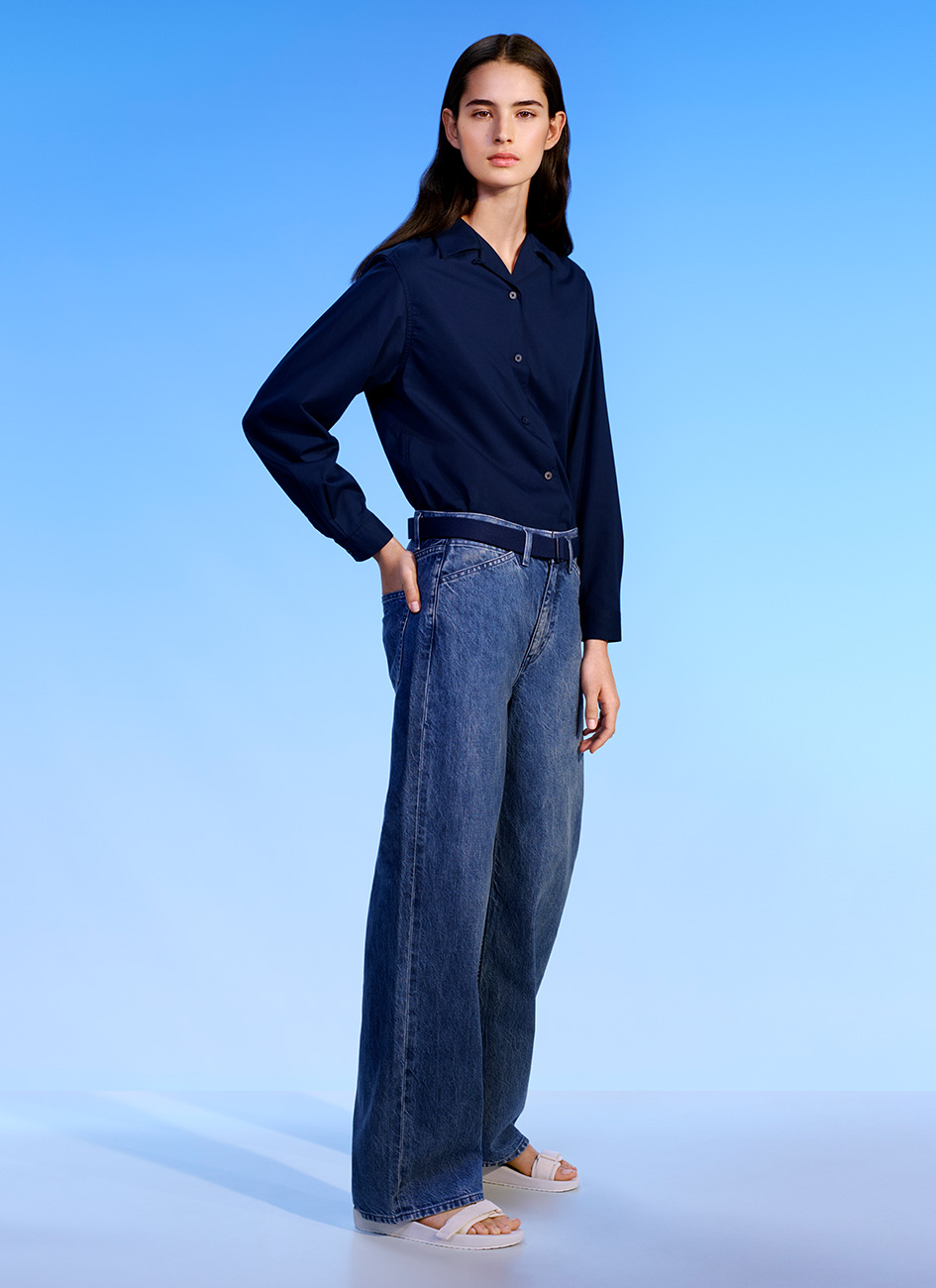 UNIQLO U by CHRISTOPHE LEMAIRE  LOOKBOOK IMAGE  SPRING/ SUMMER 2018