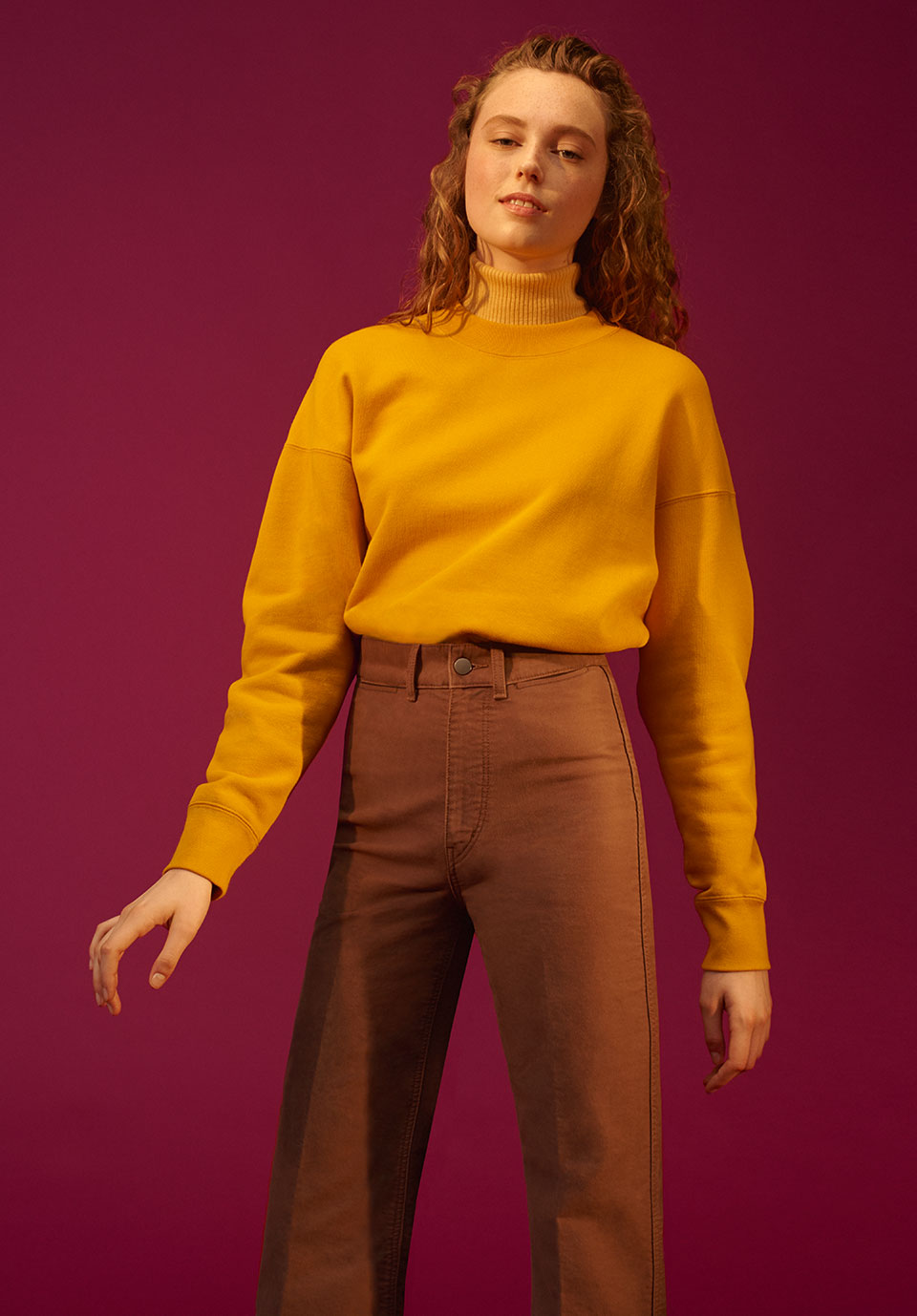 UNIQLO U by CHRISTOPHE LEMAIRE  LOOKBOOK IMAGE  FALL/ WINTER 2018
