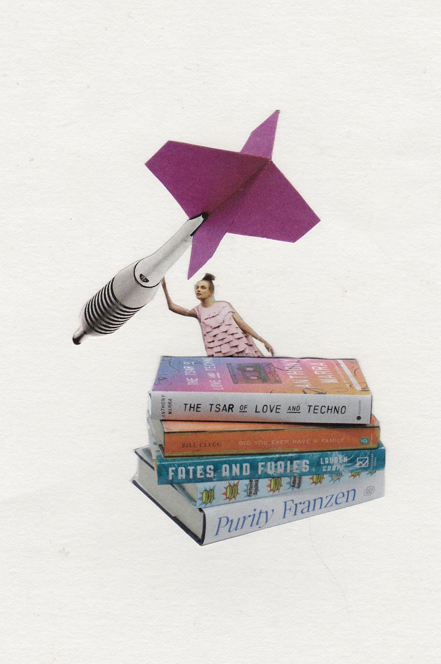 dart books collage