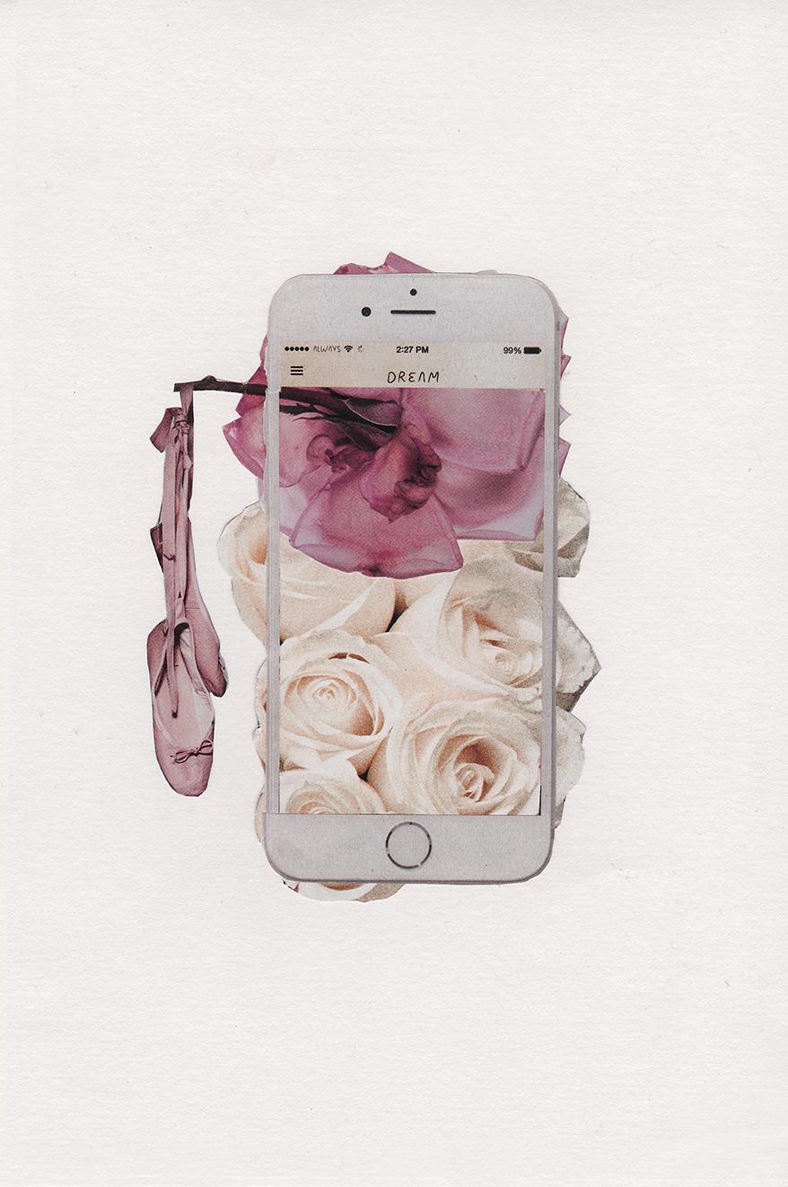iphone dream collage