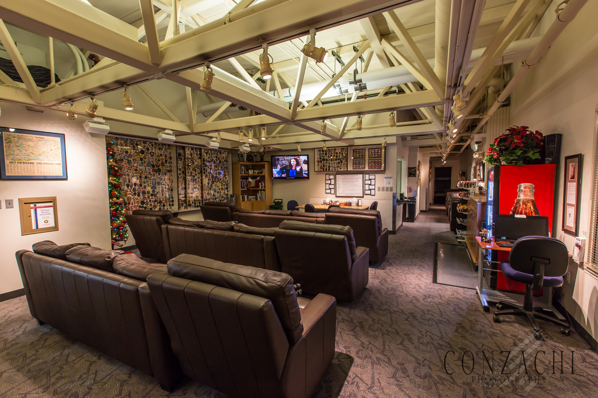 Main lounge area of the AFSC MSP.