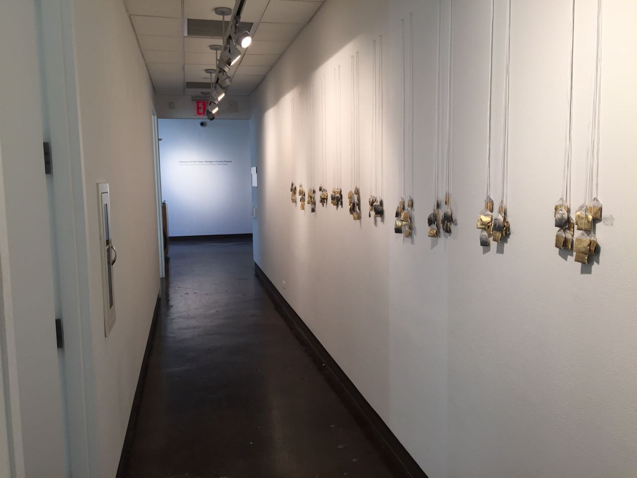 residue of a shadow (installation view)
