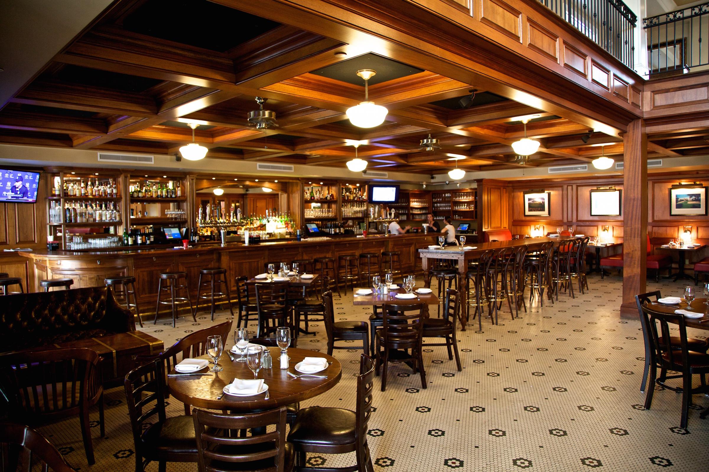 Rye Grill Bar Area