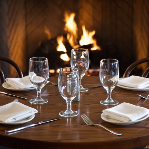 Rye Grill and Bar Fireplace