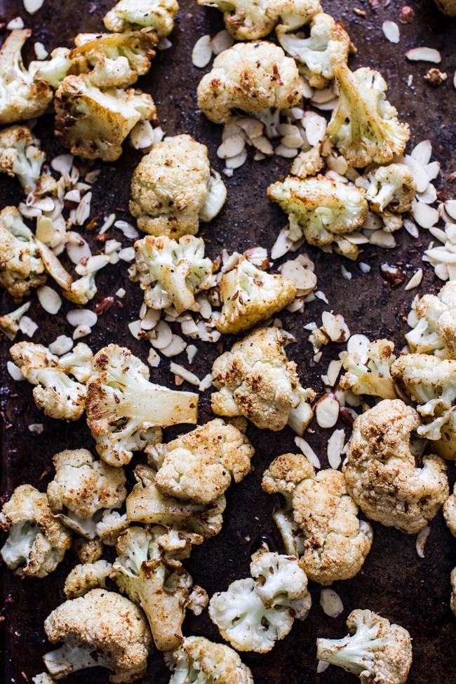 Cumin Roasted Cauliflower | edibleperspective.com