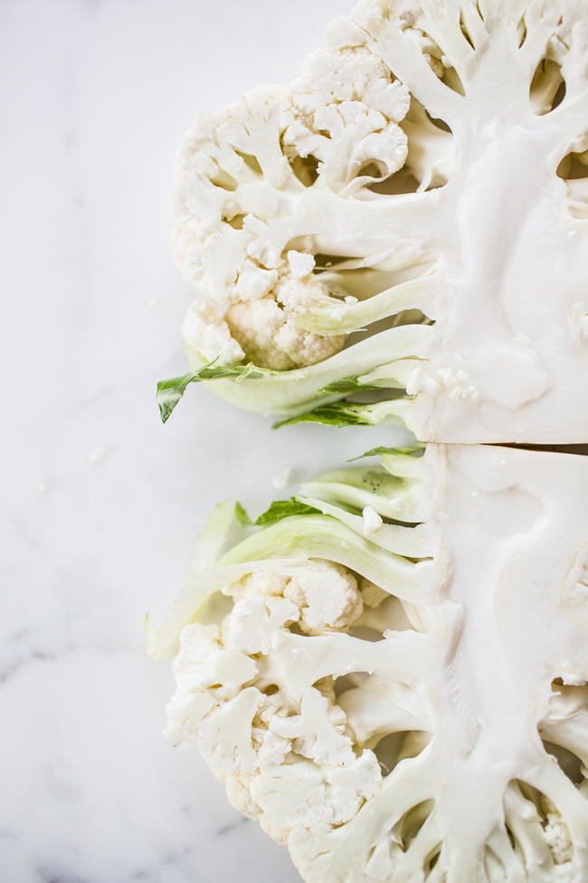 Grilled Cauliflower Caesar Salad | Edible Perspective