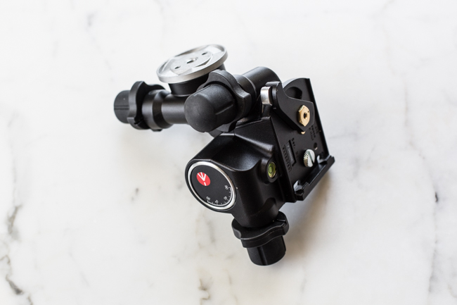 3-way geared ball head for photography | Edible Perspective