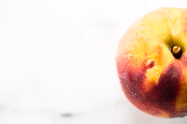 Ripe peaches for Rosé Slushies | Edible Perpsective