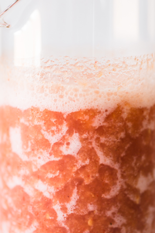 Rosé Slushies are the perfect end of summer treat! | Edible Perspective