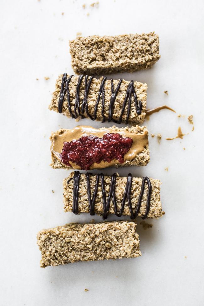 Maple Vanilla Oatmeal Bars | edibleperspective.com