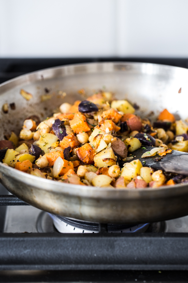 Breakfast Potato Hash | Edible Perspective