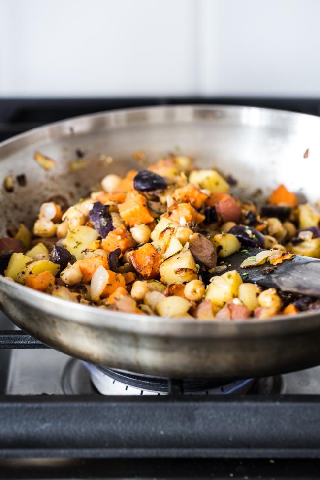 Breakfast Potato Hash   Edible Perspective