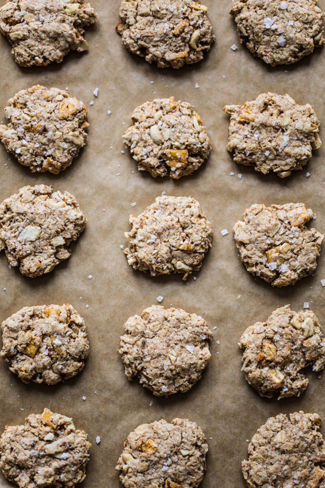 Tropical Oatmeal Snack Cookies | edible perspective