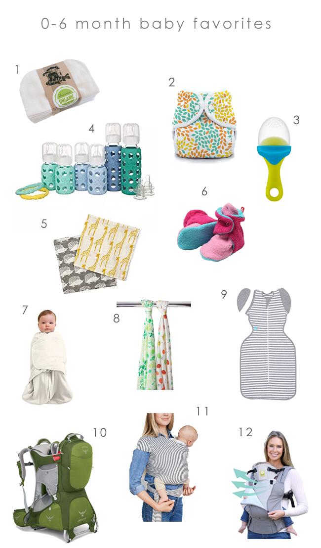 0-6 Month Baby Favorites | Edible Perpsective