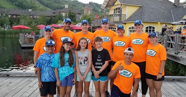 These awesome instructors will be at our camps inspiring the next generation of passionate players. Solid leaders and full of fun #bluemountain #collingwood #summer #summercamp #hockey