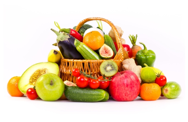 whole foods, such as fruits, grains, vegetables, & nuts
