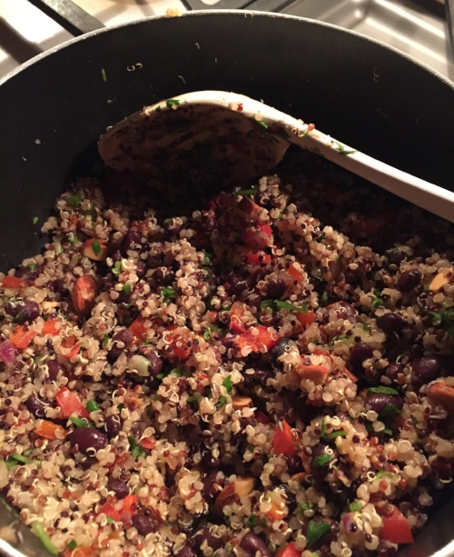 Quinoa w. black beans.2.JPG