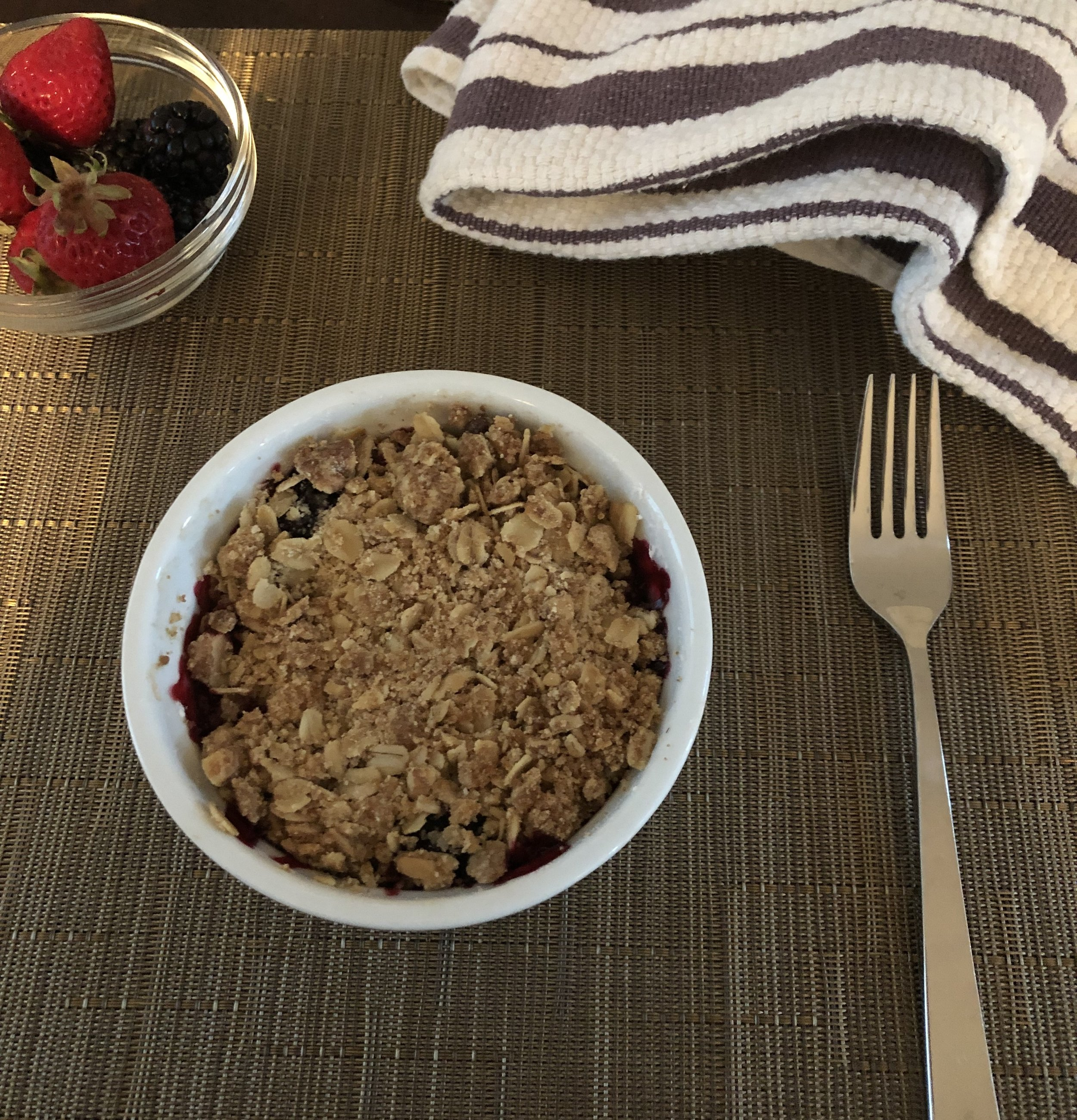 Mixed Berry Crisp for 2