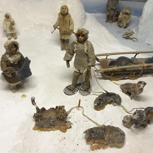 Diorama dog carnage