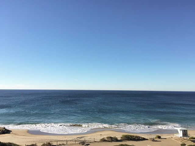 Never seen the Pacific so still. And that water is warm y'all! #elninoiscoming
