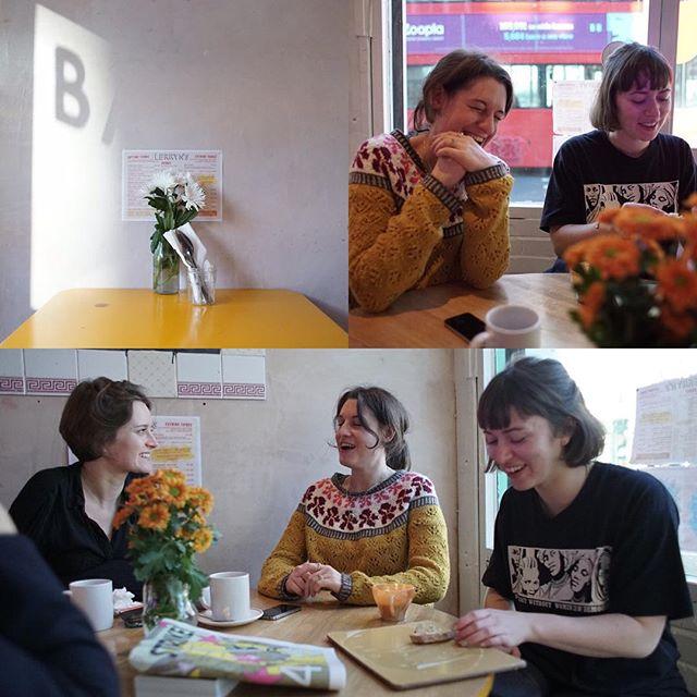 @lerrynscafe with good friends. #toomuchcoffee  #tbt