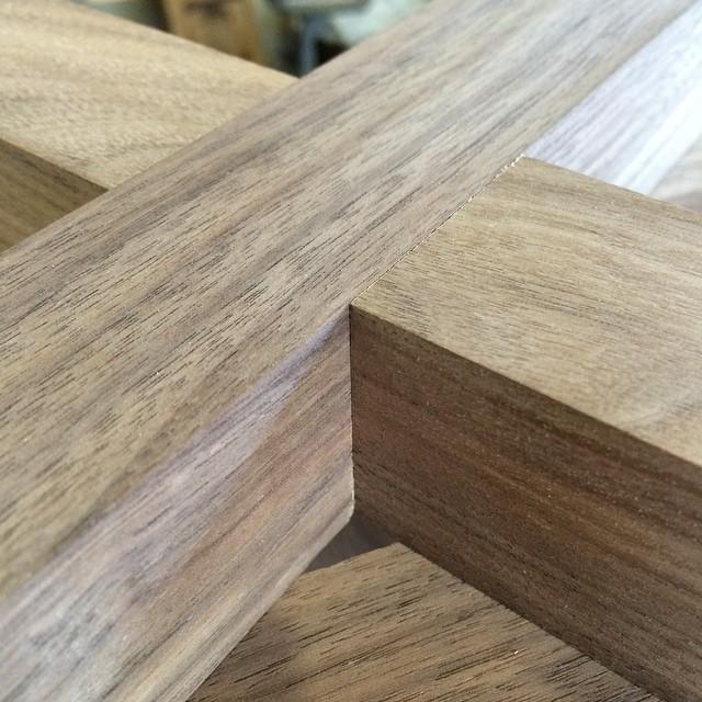 Love to see it #walnut #woodshop #woodworking #handmade #handmadefurniture #furnituredesign #design #skanadesign