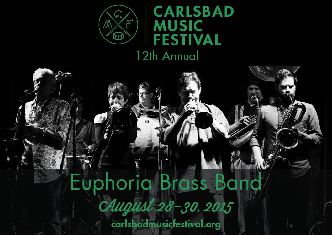 Join EBB at 3:30 pm as we 2nd Line from the beach (Pine Ave) to Giacoletti Music parking lot (State & Carlsbad Village Dr.)