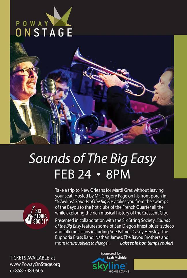 Sounds Of The Big Easy @ Poway Center For The Performing Arts.jpg