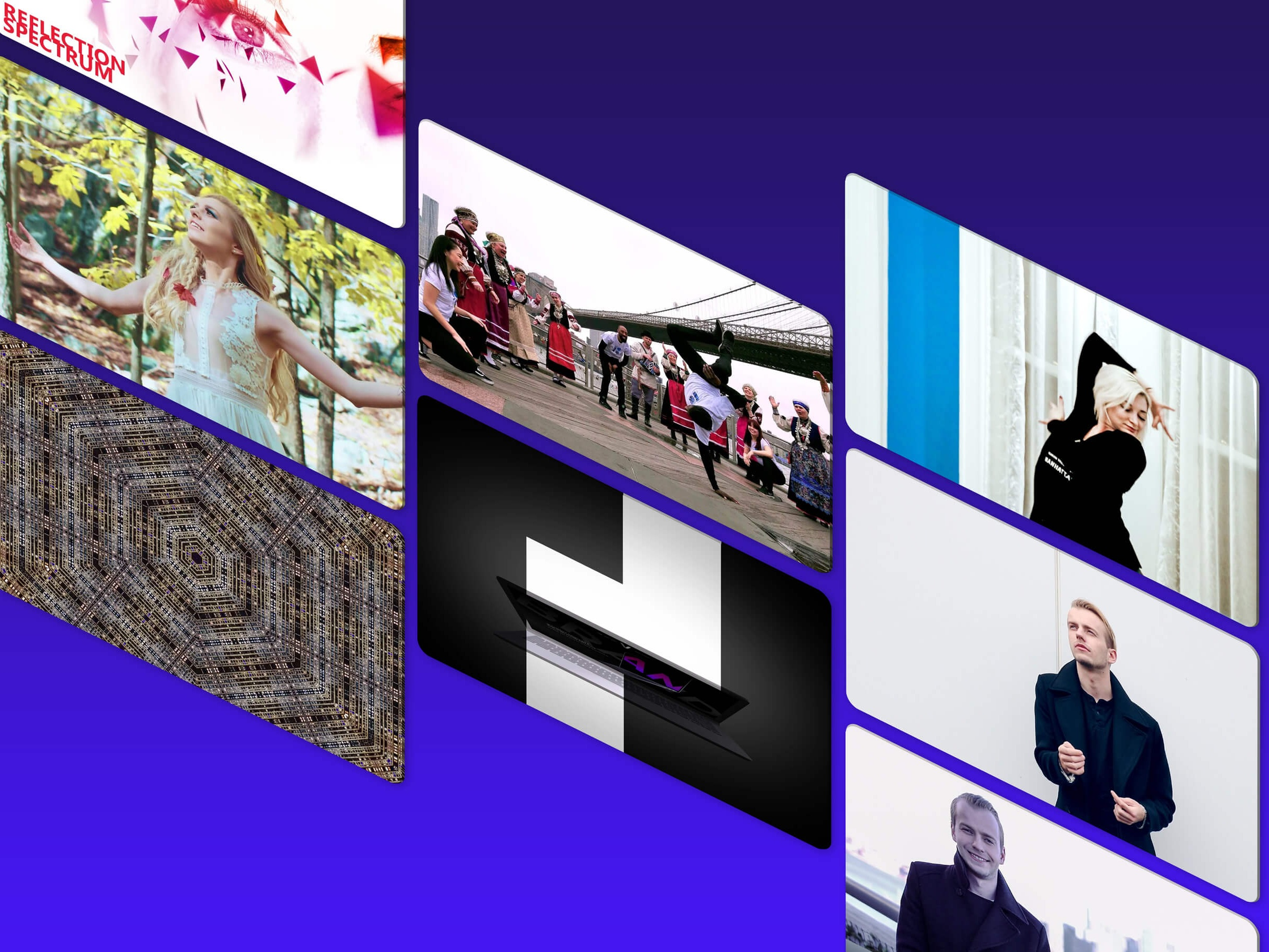 Motion-Based Mediums - Motion-based projects range from promotional videos and animated content to avant-garde video projects.Video DirectionVideo Editing & ProductionPerformance & ActingMotion-based Ads & Animations