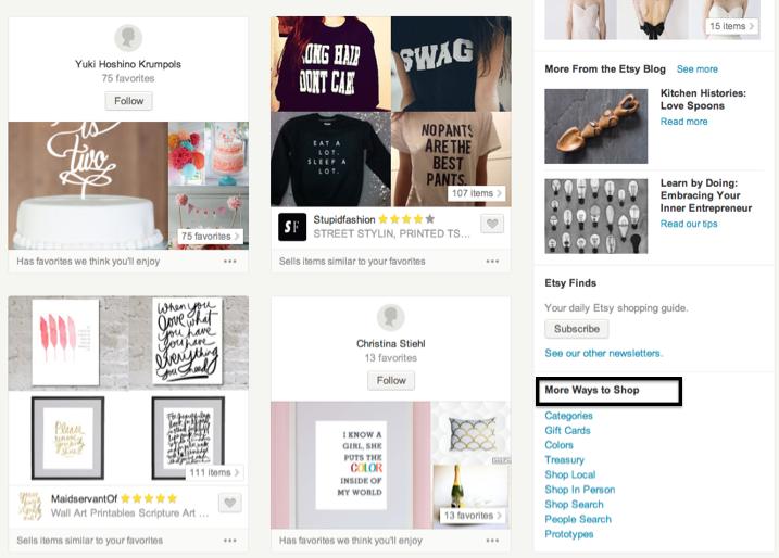 5 ways to score big on Etsy | Sarah Catherine Design