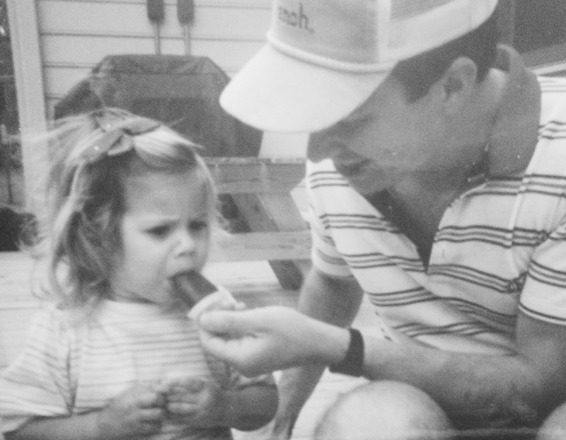 Me and my daddy circa 1989