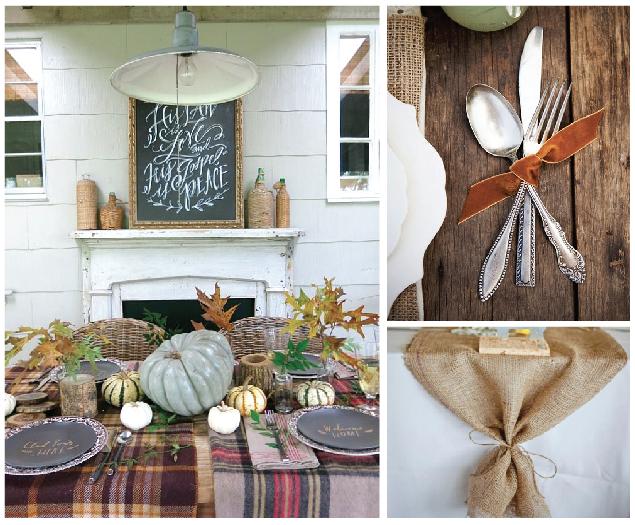 Thanksgiving Table Inspiration   Sarah Catherine Design