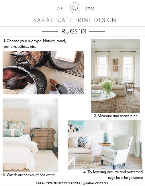 Rugs 101 - Sarah Catherine Design