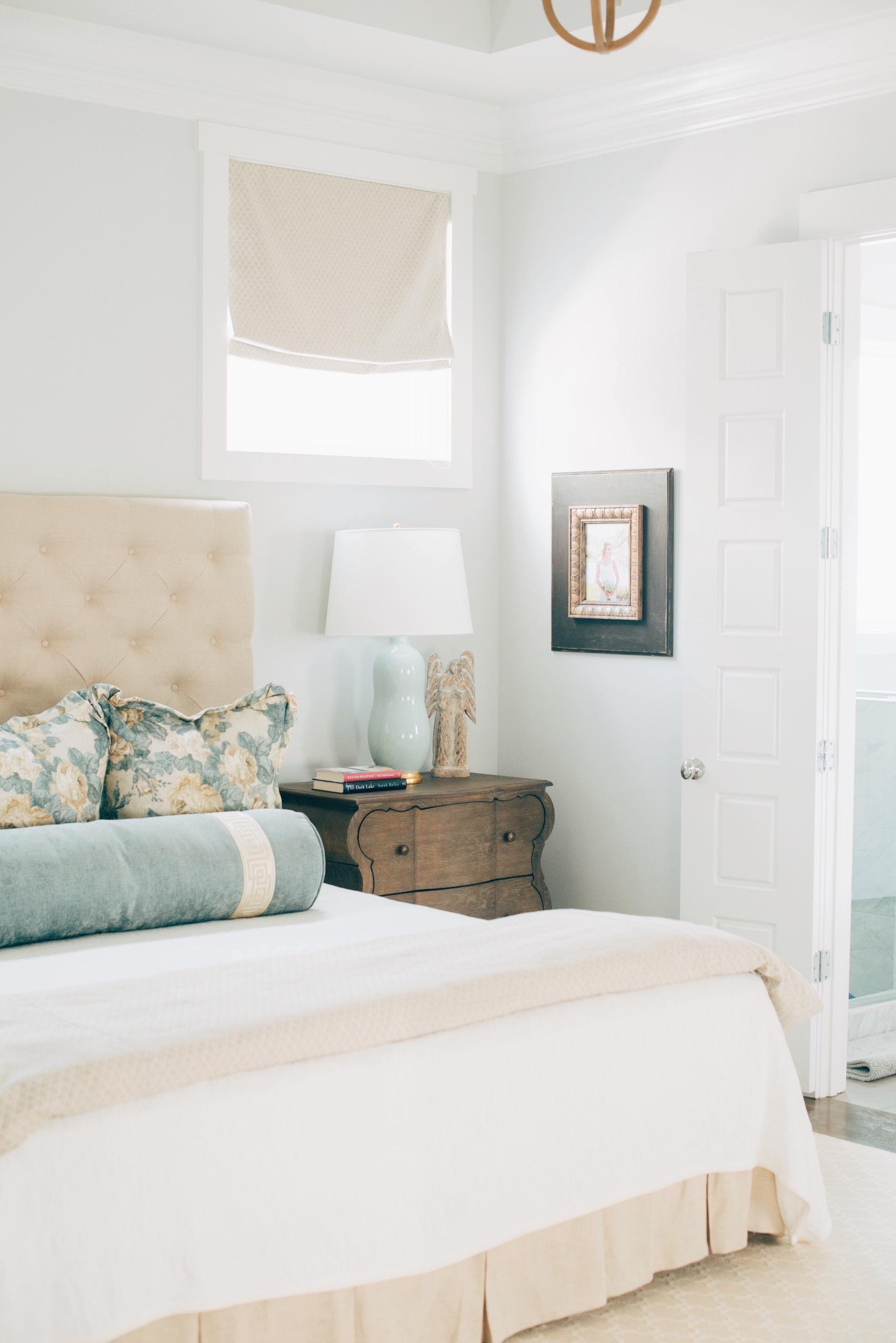 Walls: Porter Paint, Thin Ice   Sarah Catherine Design