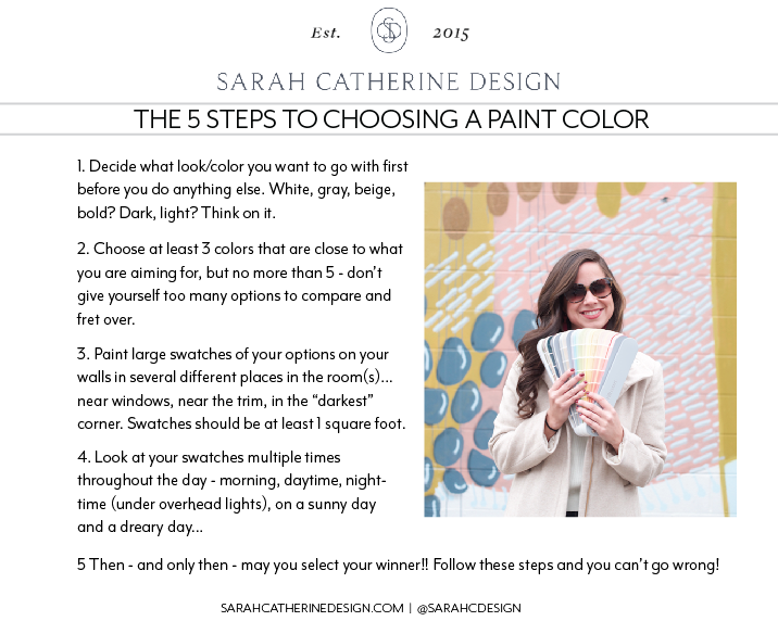 Favorite Interior Paint Colors   Sarah Catherine Design