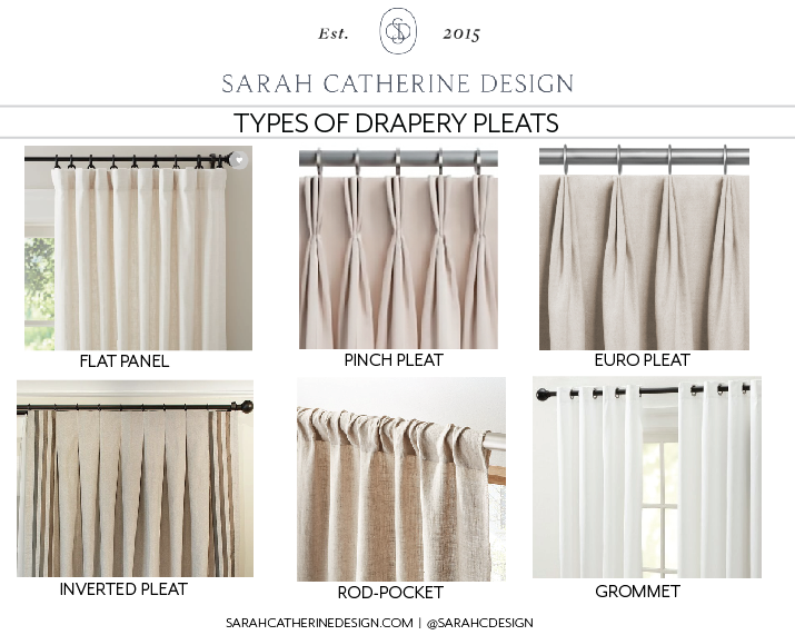 Draperies 101 - The ins and outs of draperies explained | Sarah Catherine Design
