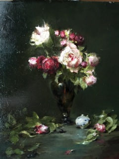pink roses green glass 14x15.jpg