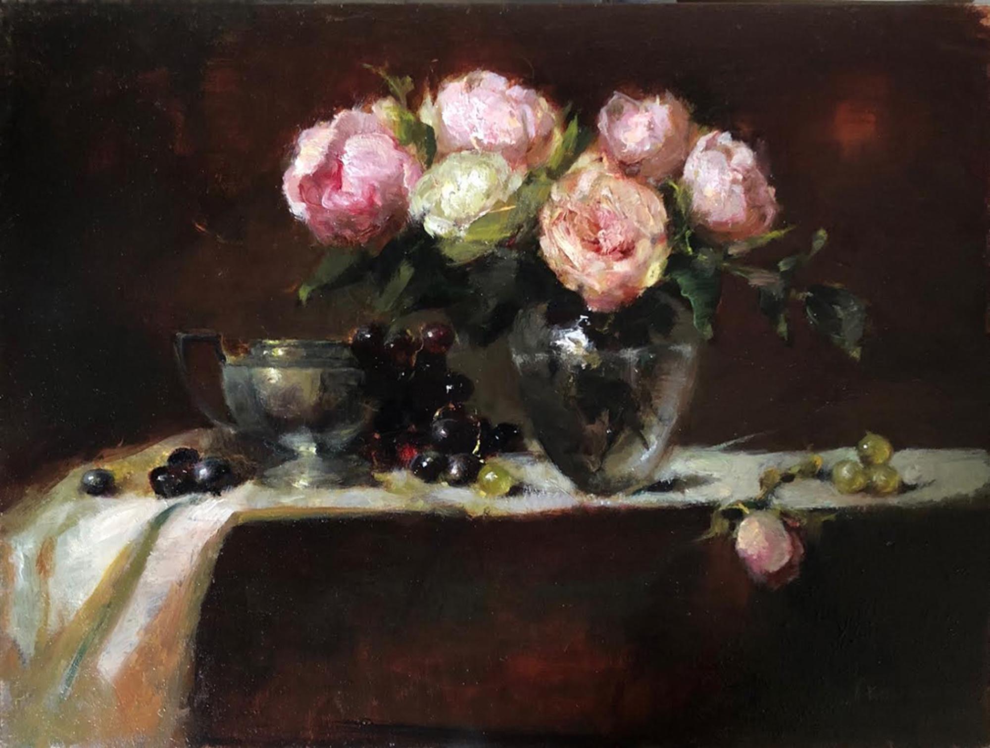 Pink Roses With Sarah sugar bowl.jpg